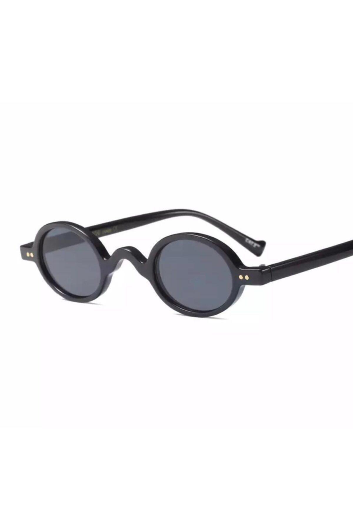 عینک آفتابی مردانه نخ پنبه برند LOOKUP رنگ مشکی کد ty89502002