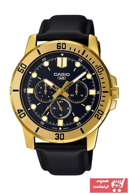 سفارش پستی ساعت مردانه اورجینال برند کاسیو رنگ طلایی ty89539278