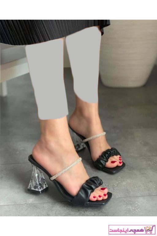 پاشنه دار فانتزی برند Parla Ayakkabı رنگ مشکی کد ty90091458