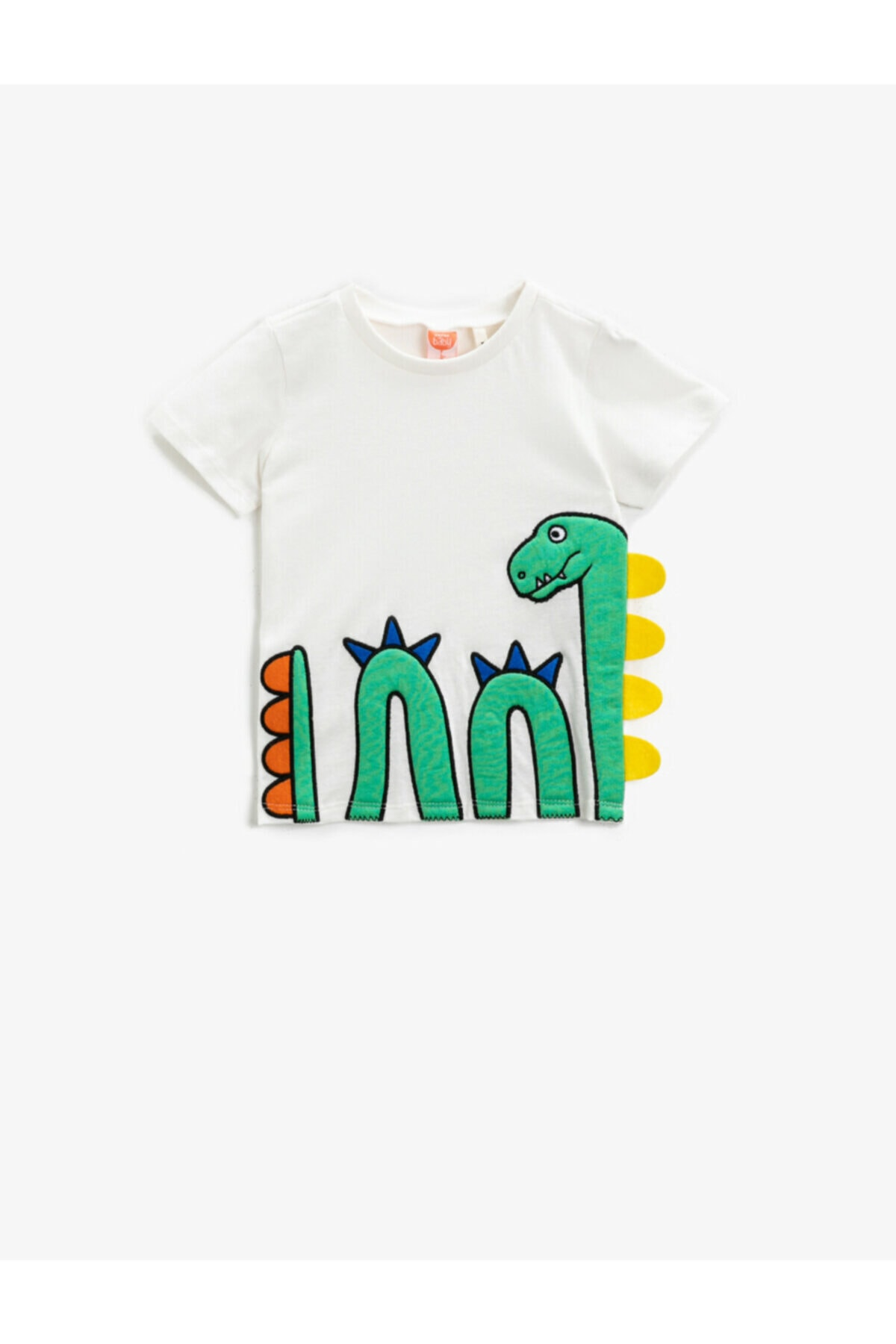تیشرت نوزاد پسرانه ارزان برند کوتون رنگ بژ کد ty90343856