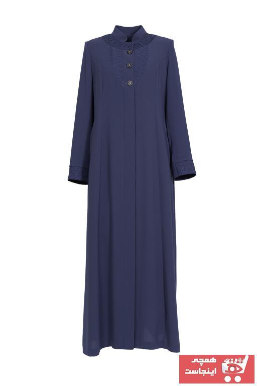 مانتو زنانه برند Soydan Güner رنگ لاجوردی کد ty90597628