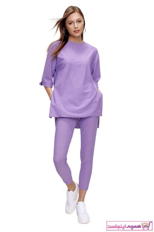 تونیک زنانه مارک برند butikburuç رنگ بنفش کد ty90843110