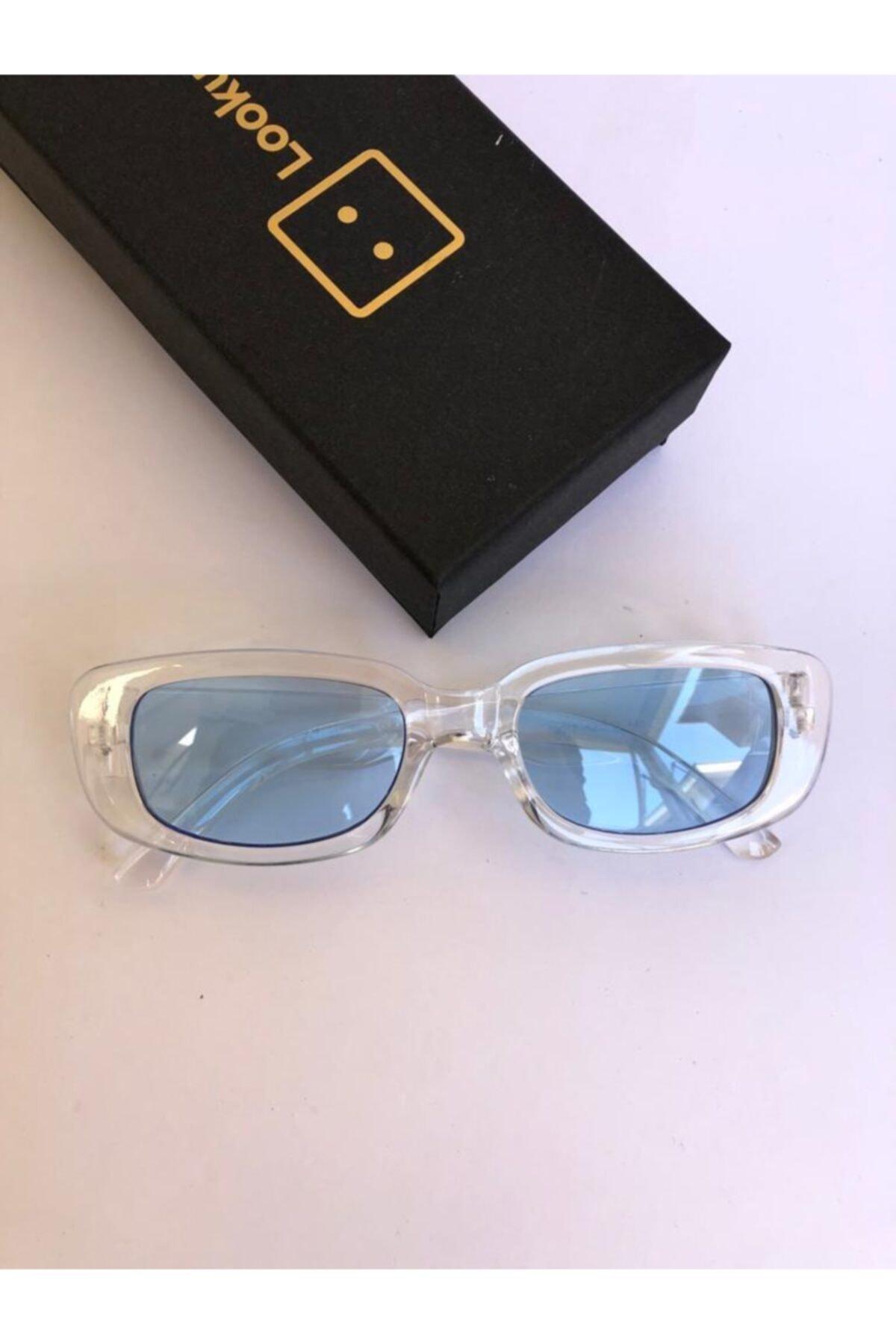 فروشگاه عینک آفتابی زنانه اینترنتی  رنگ آبی کد ty90849611