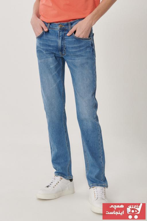 خرید شلوار جین مردانه ست برند Lee رنگ آبی کد ty91069549