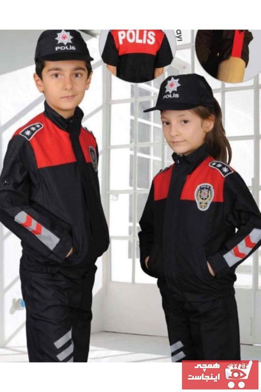 لباس خاص طرح دار برند Yonca Çocuk رنگ قرمز ty91393283