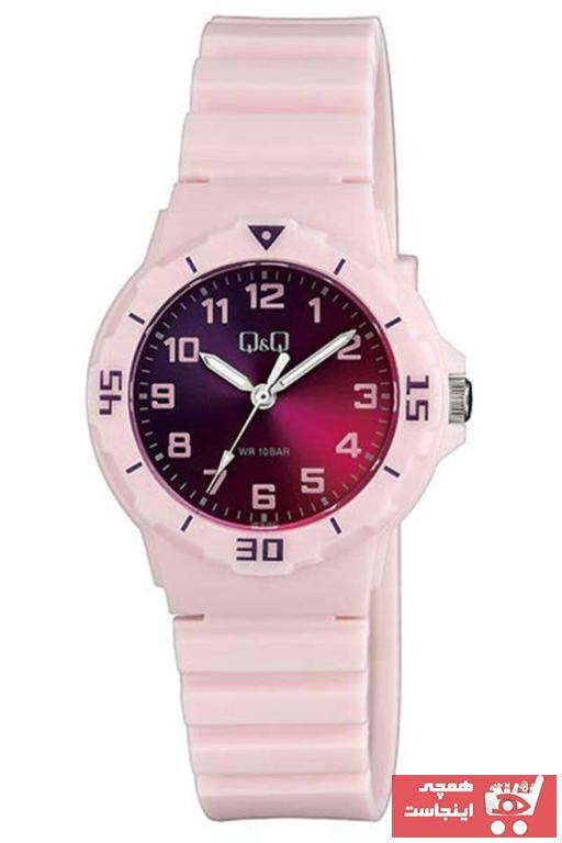 ساعت بلند برند Q&Q رنگ مشکی کد ty91768133
