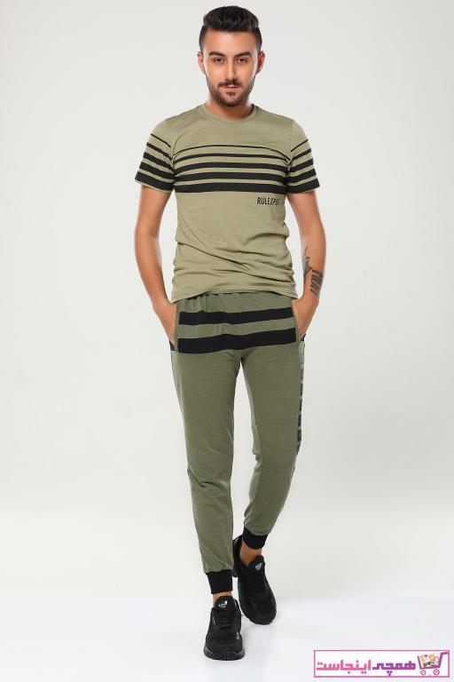 شلواراسلش جدید مردانه شیک برند julude رنگ خاکی کد ty91788769