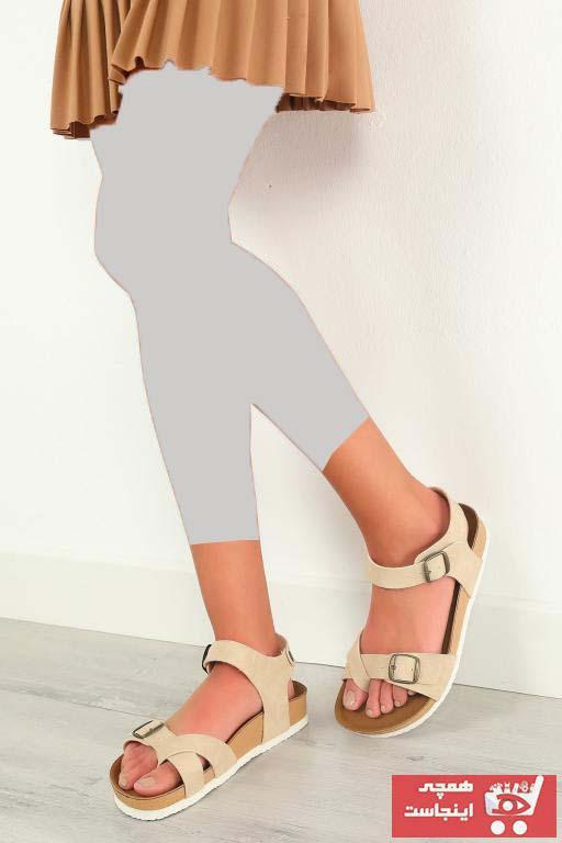 مدل صندل زنانه برند julude رنگ بژ کد ty91815372