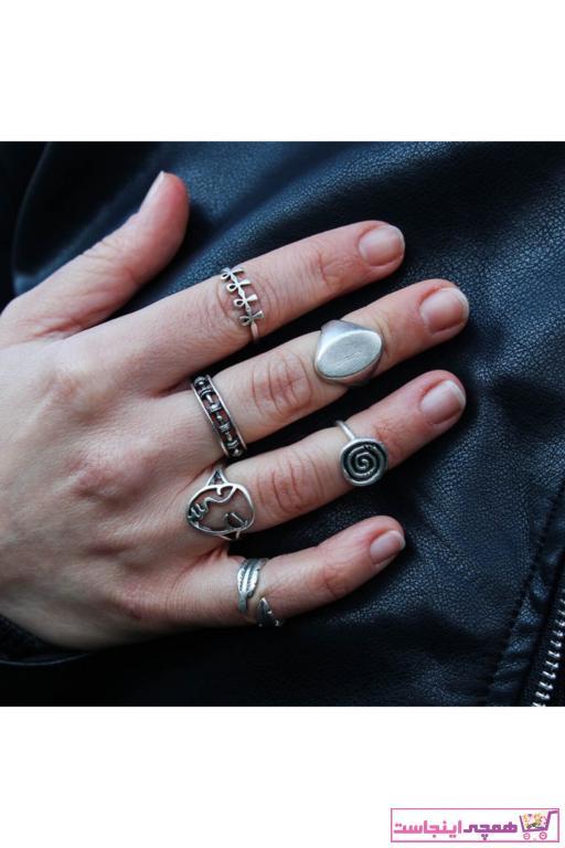 انگشتر زنانه ارزان برند Zuk Collection رنگ نقره کد ty91825723