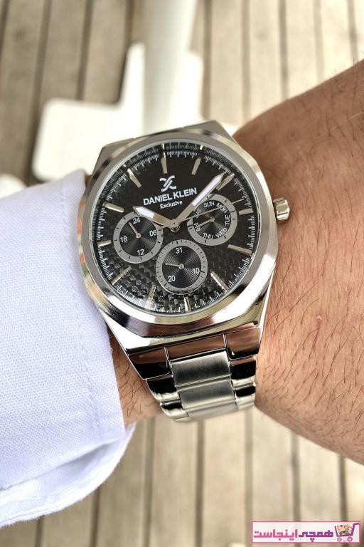 خرید نقدی ساعت مردانه اورجینال برند Daniel Klein رنگ نقره کد ty92160683