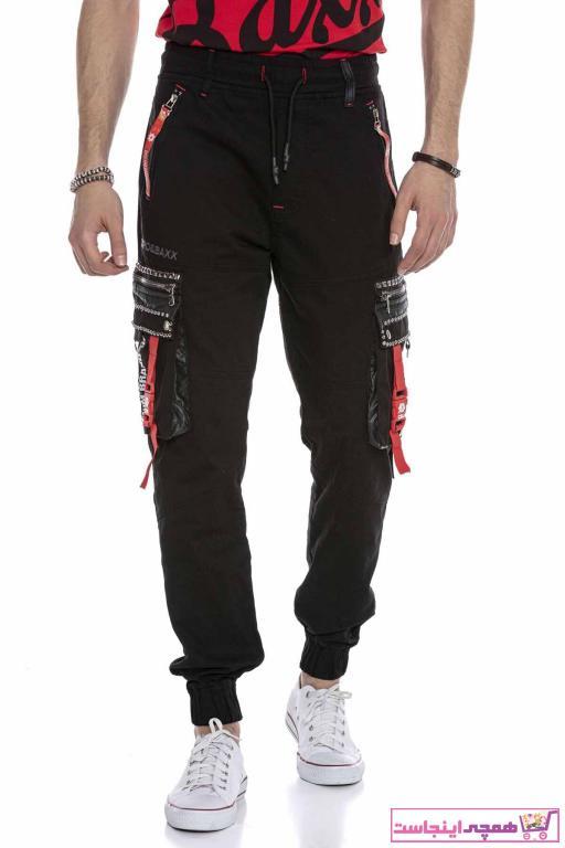 خرید نقدی اسلش مردانه فروشگاه اینترنتی برند Cipo&Baxx رنگ مشکی کد ty92318605
