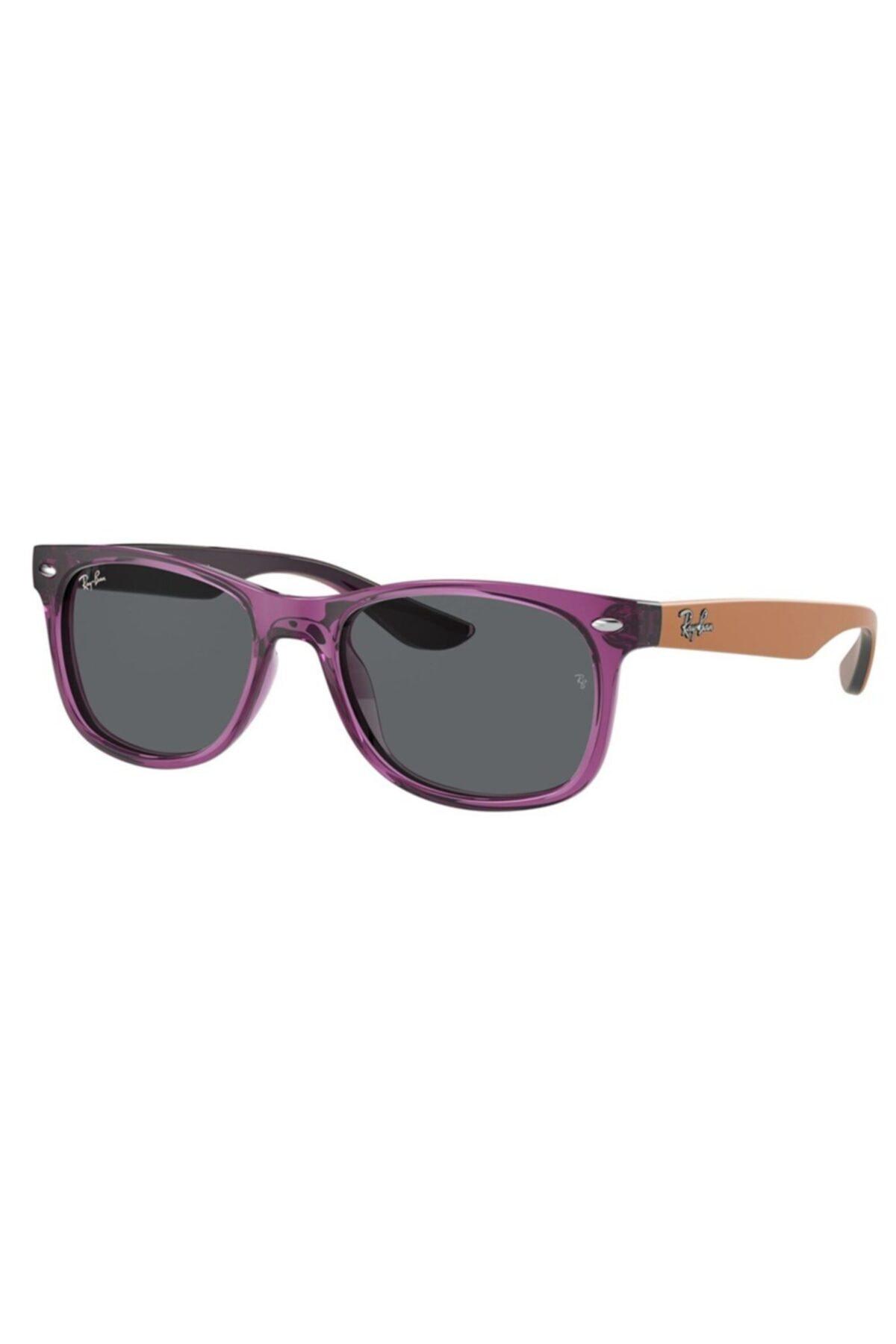 خرید انلاین عینک آفتابی دخترانه طرح دار برند ری بن رنگ بنفش کد ty92559185