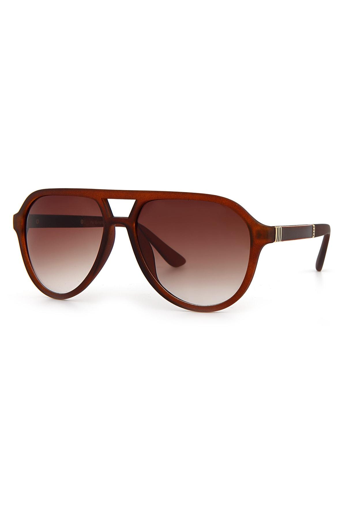 فروش عینک دودی مردانه حراجی برند Aqua Di Polo 1987 رنگ قهوه ای کد ty92800734