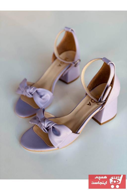 سفارش انلاین پاشنه دار ساده برند Mida Shoes رنگ بنفش کد ty92936004