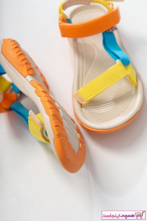 صندل دخترانه اصل جدید برند LuviShoes رنگ زرد ty93188025
