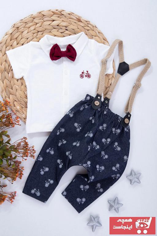 فروش انلاین ست لباس نوزاد پسرانه مجلسی برند PODİUM GİYİM رنگ لاجوردی کد ty93556251