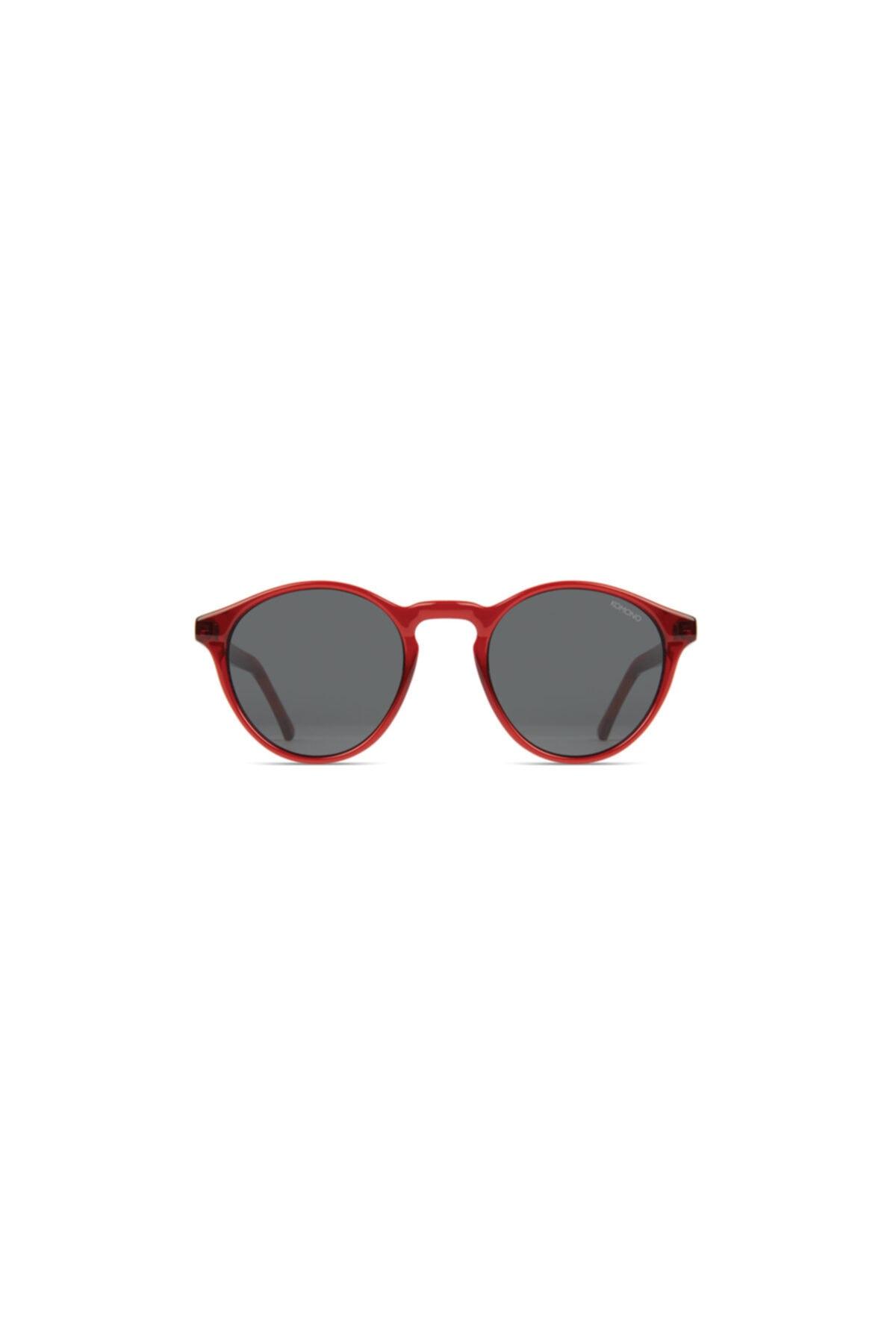 خرید انلاین عینک آفتابی طرح دار برند Komono رنگ قرمز ty93666360