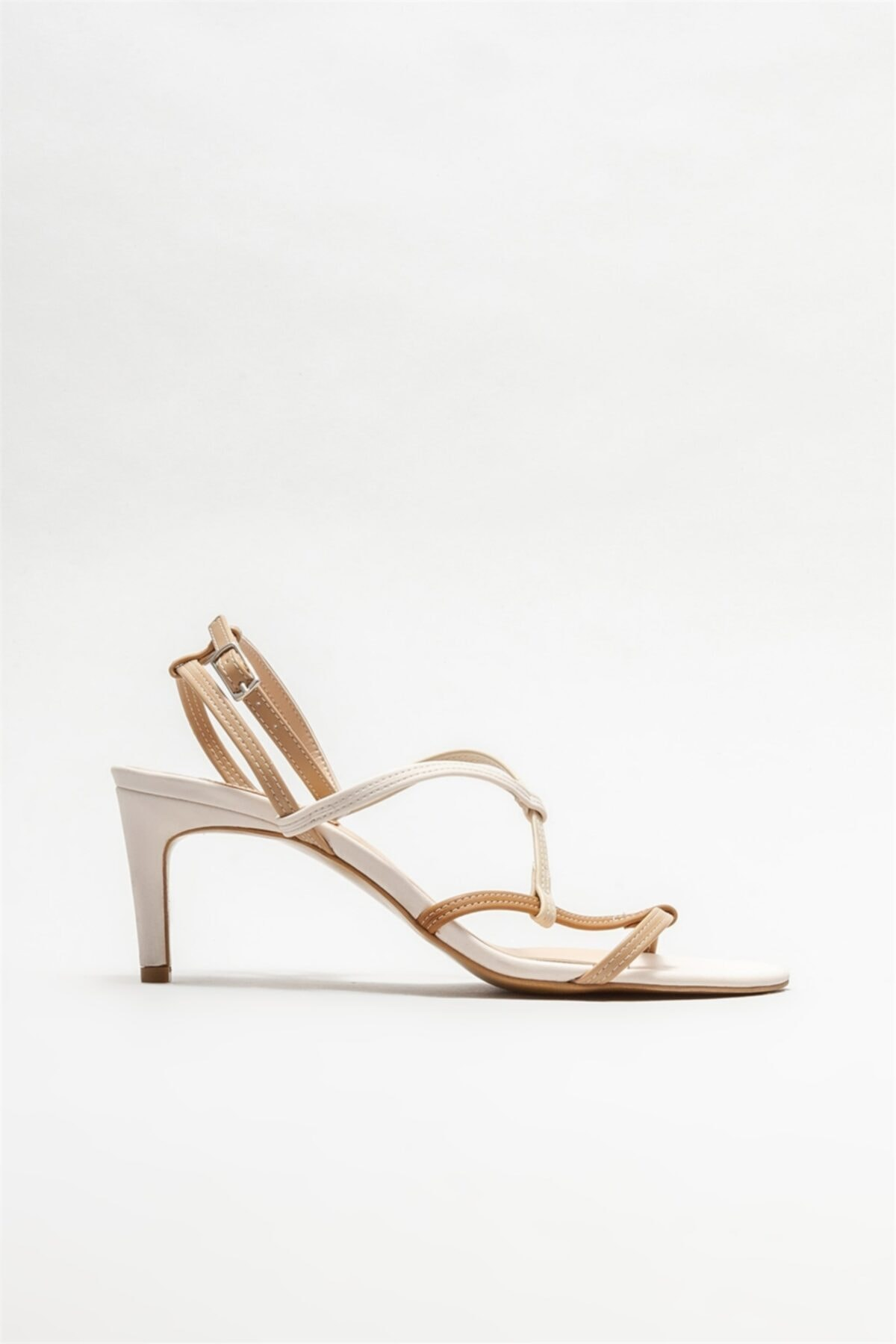 صندل بلند برند Elle Shoes رنگ بژ کد ty93888042