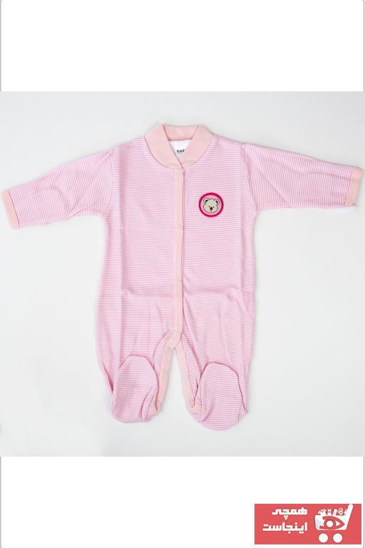 خرید انلاین سرهمی نوزاد پسرانه طرح دار برند Kardeşler Bebe رنگ صورتی ty93889361