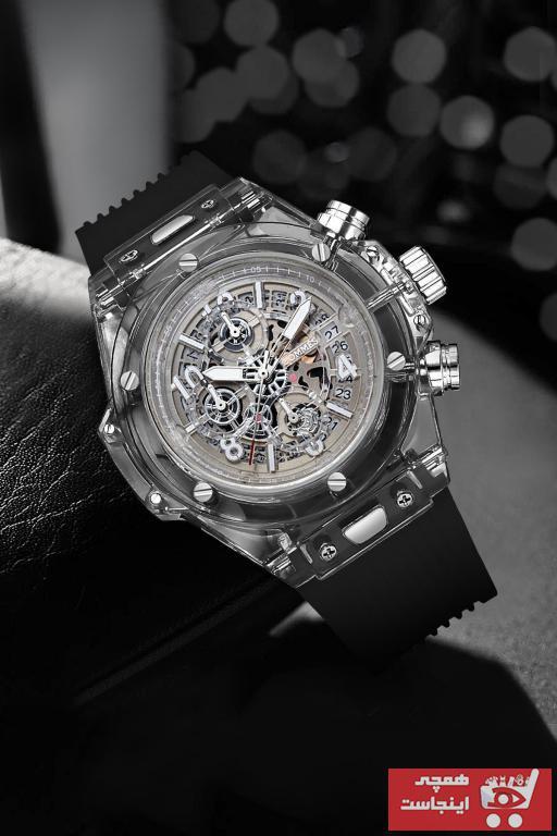 خرید ساعت مچی مردانه جدید برند COMMES رنگ مشکی کد ty94216460