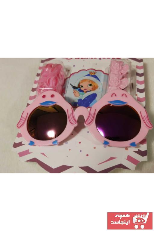 فروش عینک آفتابی بچه گانه دخترانه حراجی برند Majestic Bijuteri رنگ صورتی ty94222400
