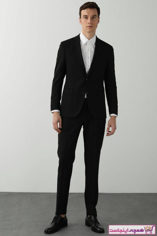 خرید انلاین کت شلوار مردانه ترکیه برند Network رنگ مشکی کد ty94365635