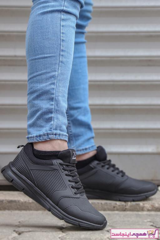 کفش اسپرت مردانه ست برند کینتیکس kinetix رنگ مشکی کد ty94381885