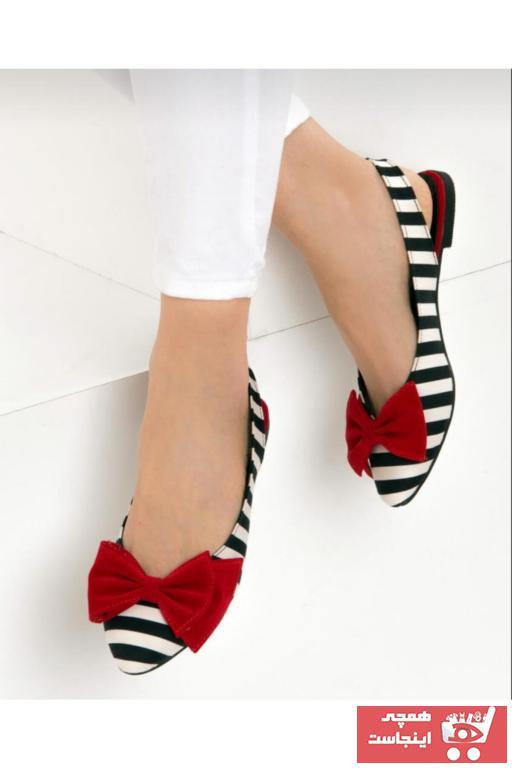 کفش تخت زنانه قیمت مناسب برند AYKMAR رنگ مشکی کد ty94464656