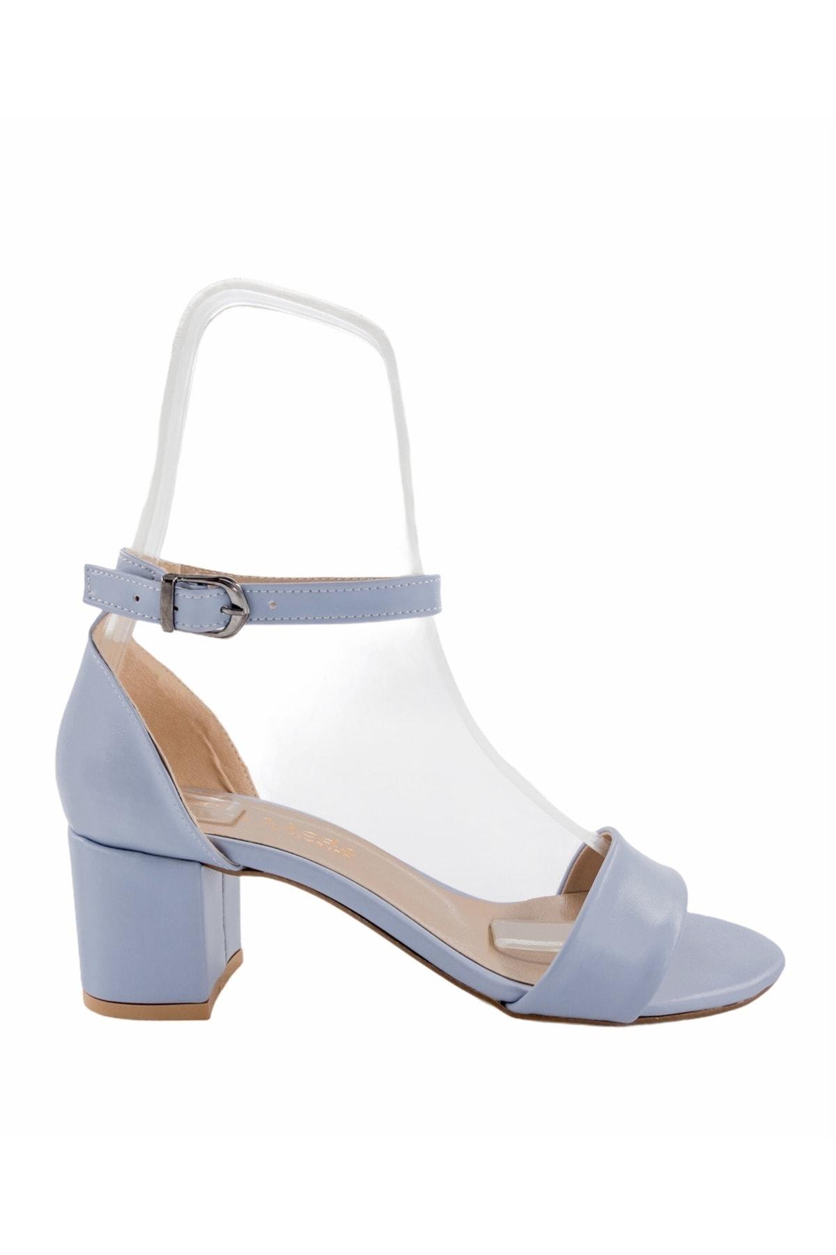 پاشنه بلند مجلسی زنانه اسپرت برند Gess رنگ آبی کد ty94652799