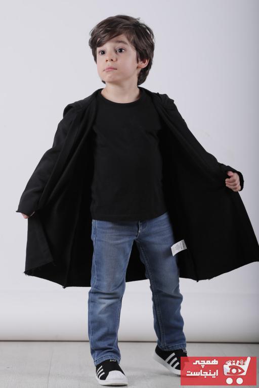 خرید اینترنتی ژاکت بلند برند grayandblack رنگ مشکی کد ty94726840