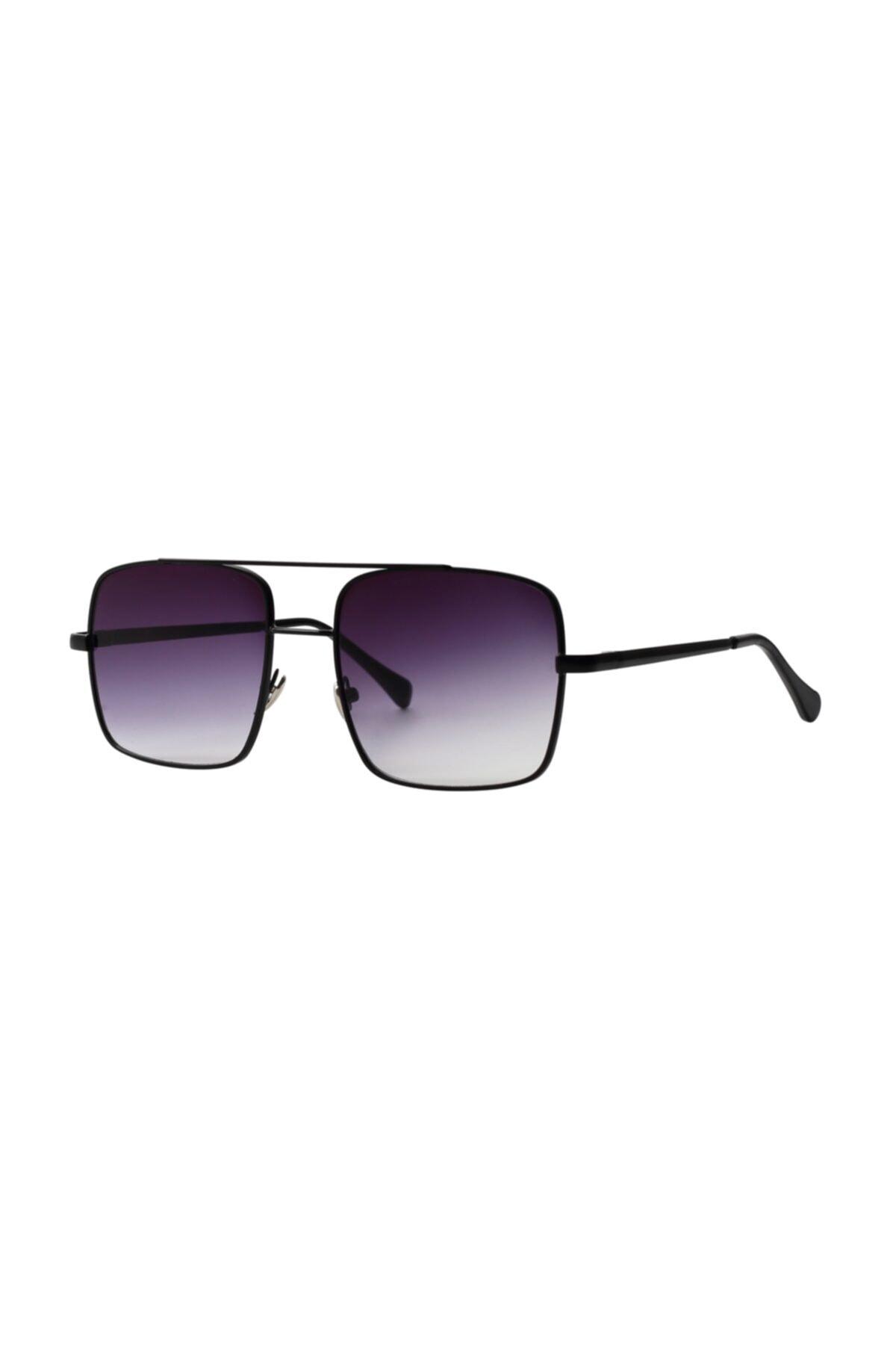 عینک آفتابی طرح دار برند Nilu Moda رنگ مشکی کد ty94779406