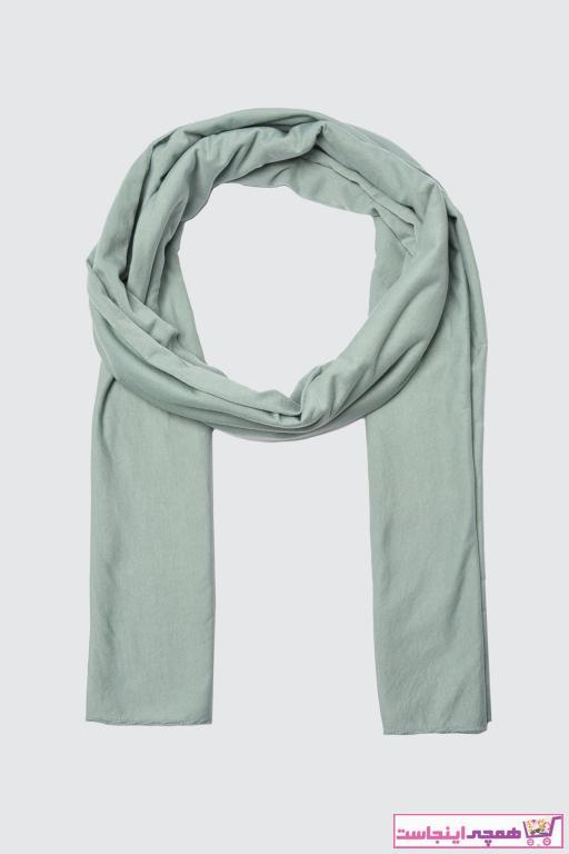 خرید انلاین شال طرح دار برند Trendyol Modest رنگ سبز کد ty95144349