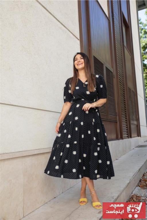 پیراهن زنانه با قیمت برند Tuğbanın Butiği رنگ مشکی کد ty95216043