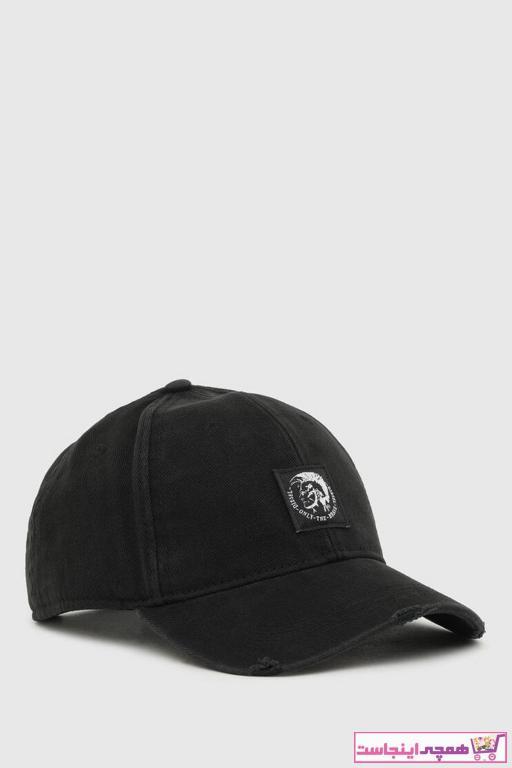 کلاه طرح دار برند دیزل رنگ مشکی کد ty95257915