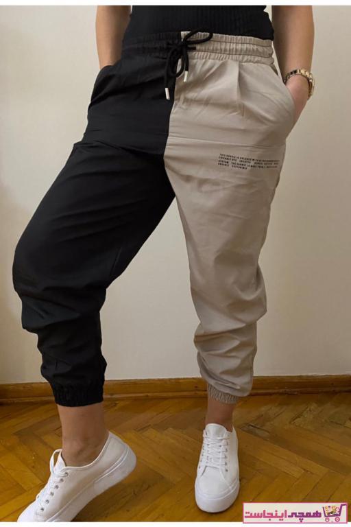 شلوار زنانه مدل دار برند ByKadıköylü رنگ مشکی کد ty95259561