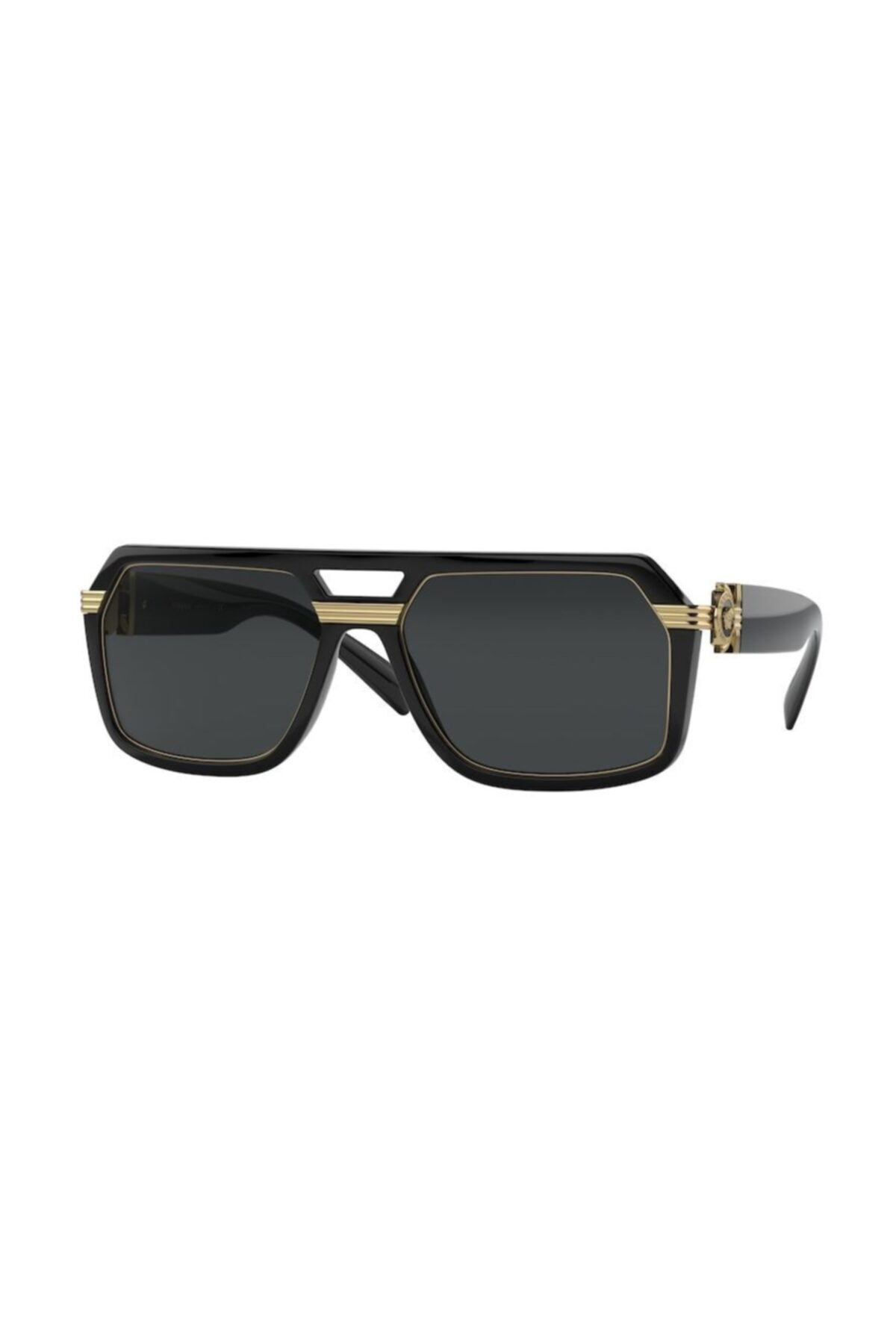 عینک دودی مردانه خفن برند ورساچ رنگ مشکی کد ty95277491