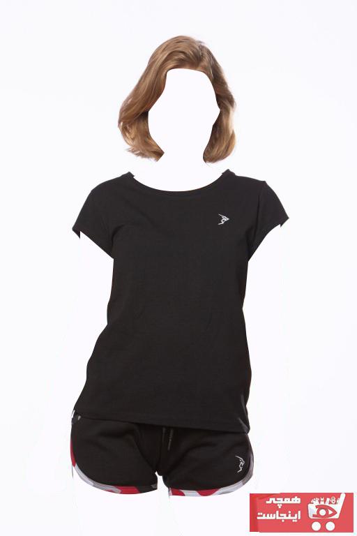 خرید انلاین تیشرت ورزشی زنانه خاص برند Gymlegend رنگ مشکی کد ty95392921