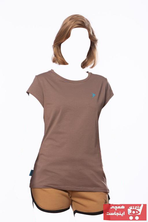 فروش نقدی تیشرت ورزشی زنانه خاص برند Gymlegend رنگ لاجوردی کد ty95393199