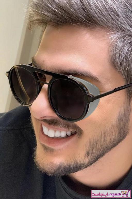 خرید پستی عینک دودی زیبا برند Hane14 رنگ مشکی کد ty95655141