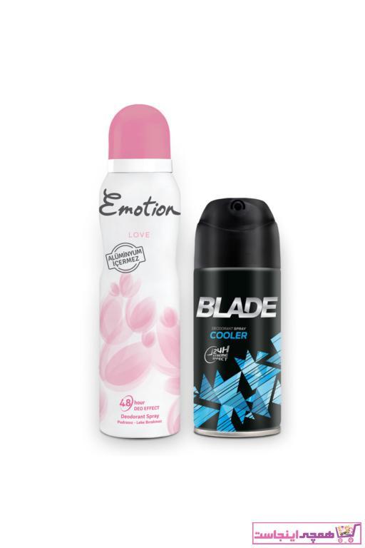 قیمت اسپری زنانه برند Emotion  ty95780906