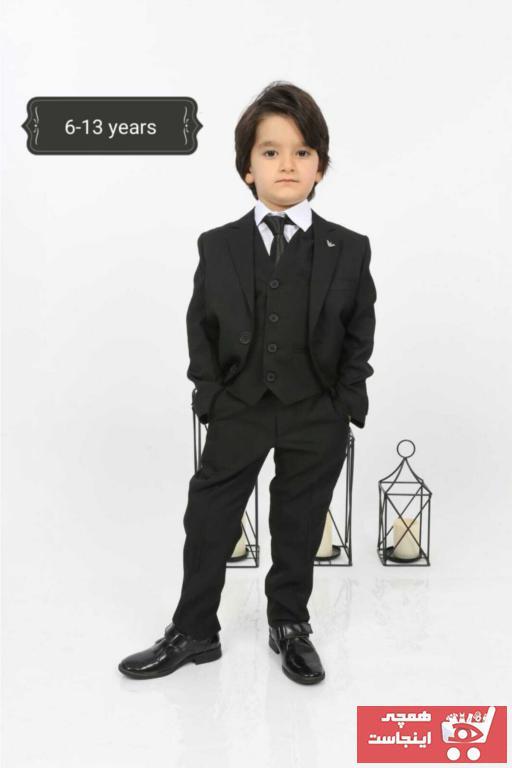 سفارش اینترنتی لباس مجلسی بچه گانه برند Nacar رنگ مشکی کد ty95811182