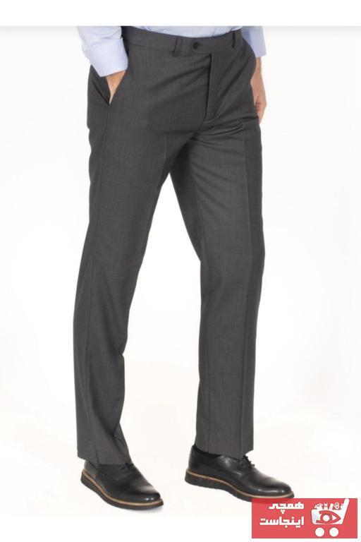 خرید انلاین شلوار مردانه طرح دار برند MaviMoure رنگ نقره ای کد ty95847434
