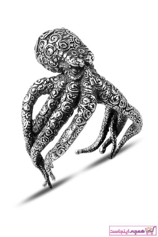 انگشتر مردانه ارزان برند Black Silver رنگ نقره کد ty9588867