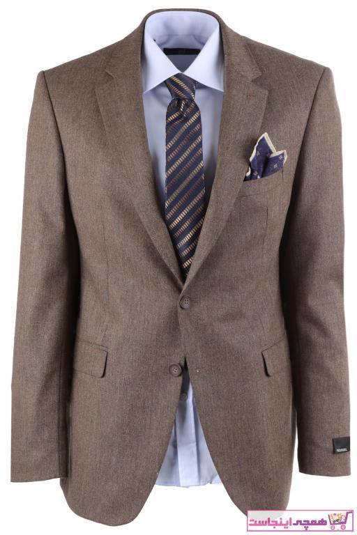 ژاکت مردانه  برند YSF Giyim رنگ بژ کد ty95952086
