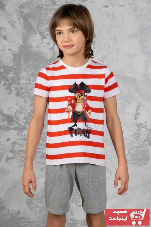 خرید اینترنتی ست راحتی خاص دخترانه برند Katia&Bony رنگ نارنجی کد ty95992633