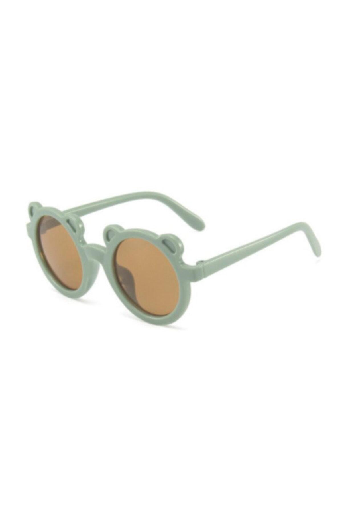 عینک آفتابی بچه گانه پسرانه مدل 2021 برند Petityu رنگ سبز کد ty96000834
