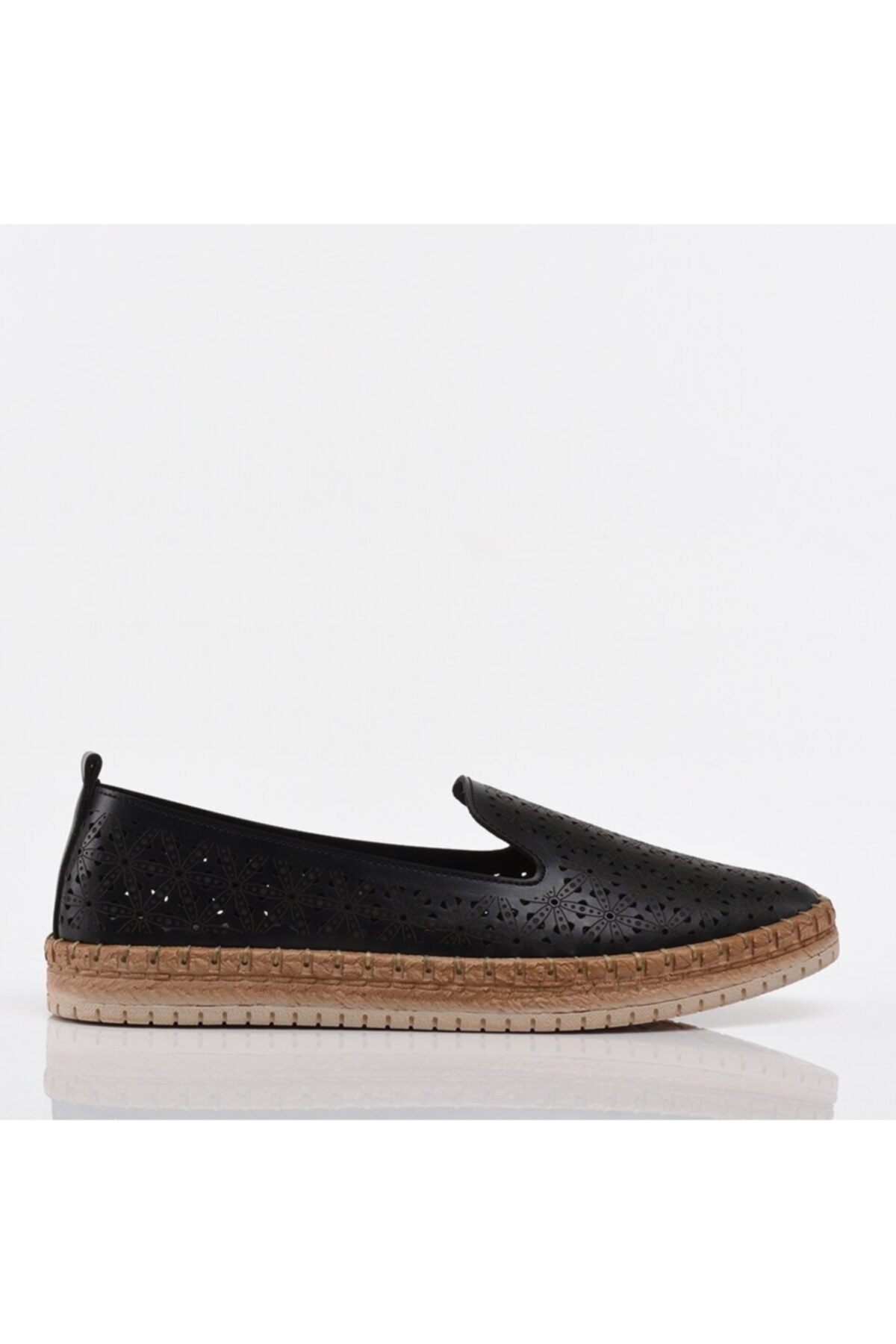 کفش تخت شیک زنانه برند هاتیچ رنگ مشکی کد ty96041936