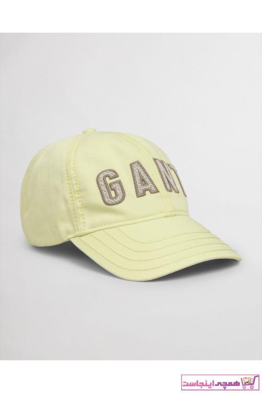 خرید انلاین کلاه جدید مردانه اصل برند Gant رنگ زرد ty96063380