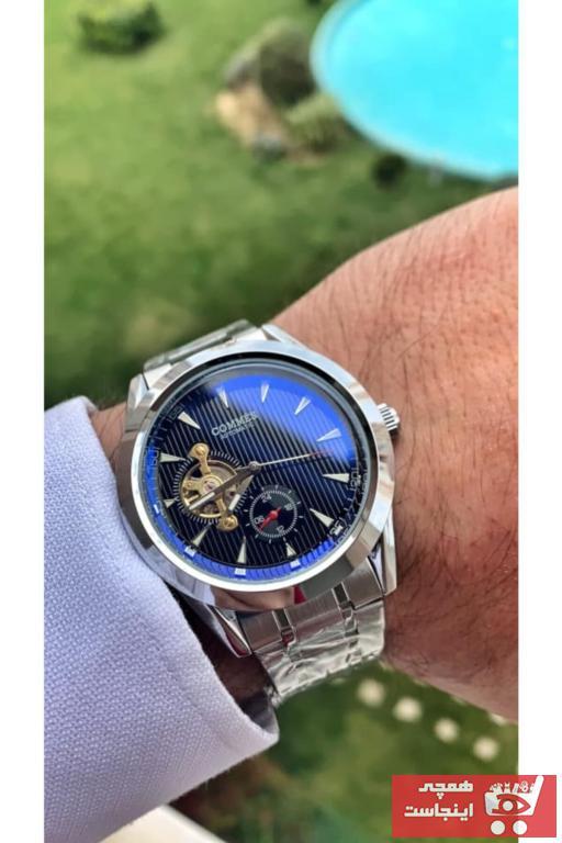 درخواست ساعت مردانه برند COMMES رنگ نقره کد ty96150798