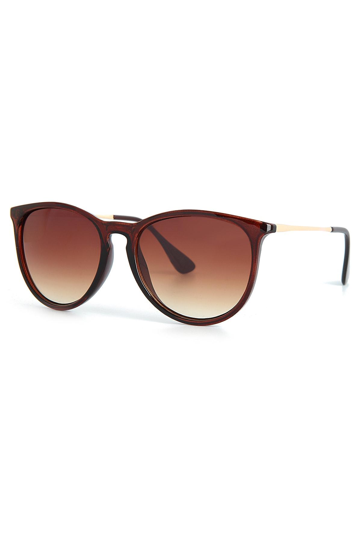 عینک آفتابی زنانه مدل دار برند Aqua Di Polo 1987 رنگ قهوه ای کد ty96224711